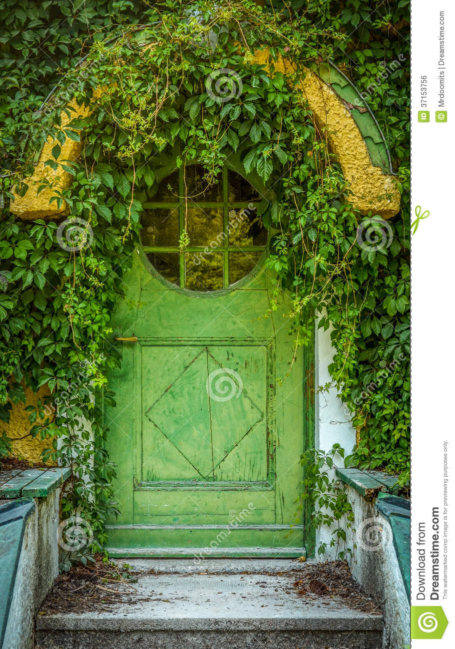 Fairytale Cottage Door Royalty Free Stock Image  Image
