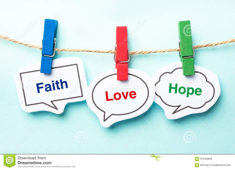 medium resolution of faith love hope
