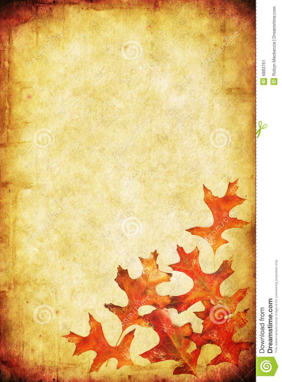 Fall Leaves Clip Art Wallpaper Fall Grunge Background Stock Image Image 6883761