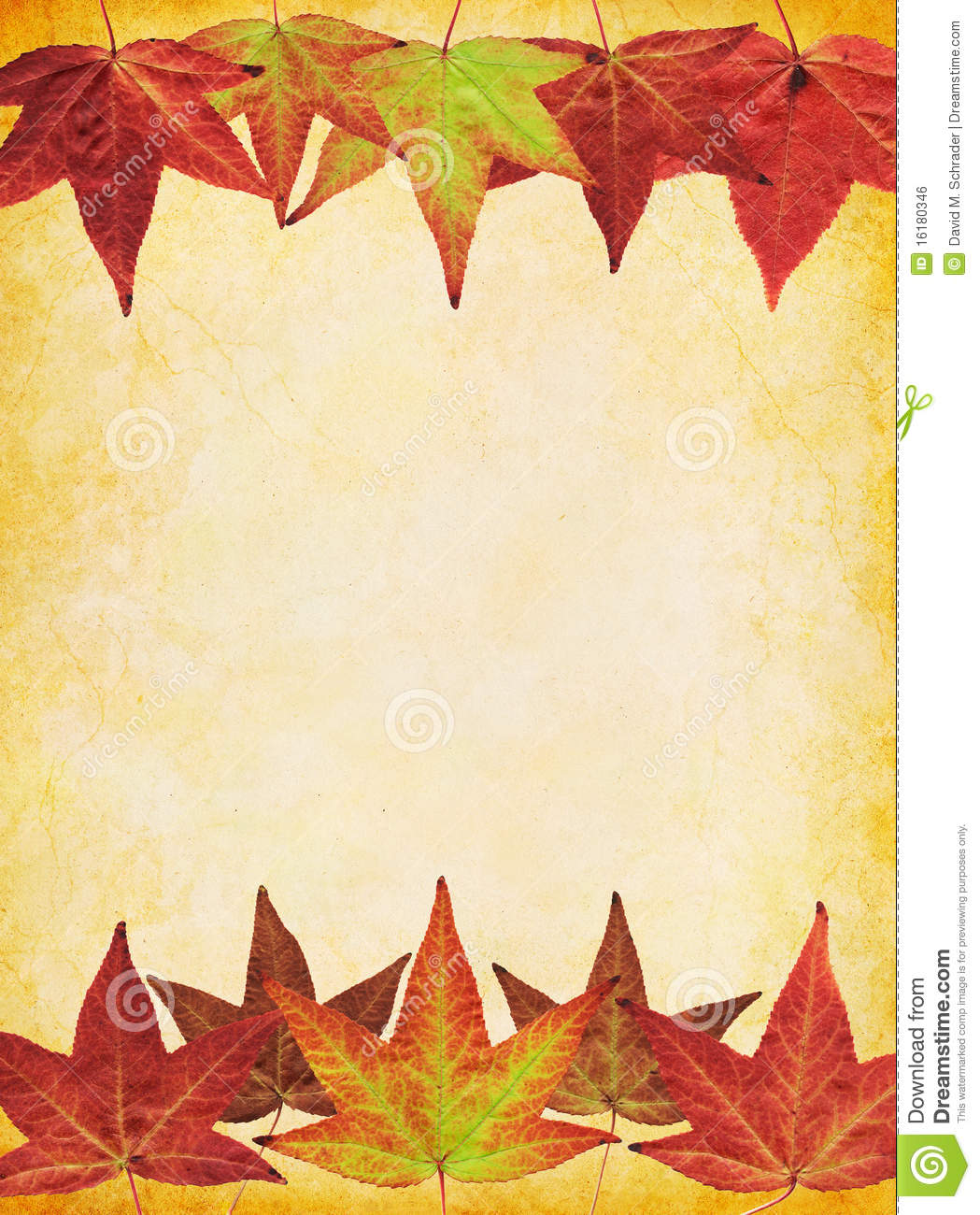Fall Leaf Background Stock Photo Image Of Glowing