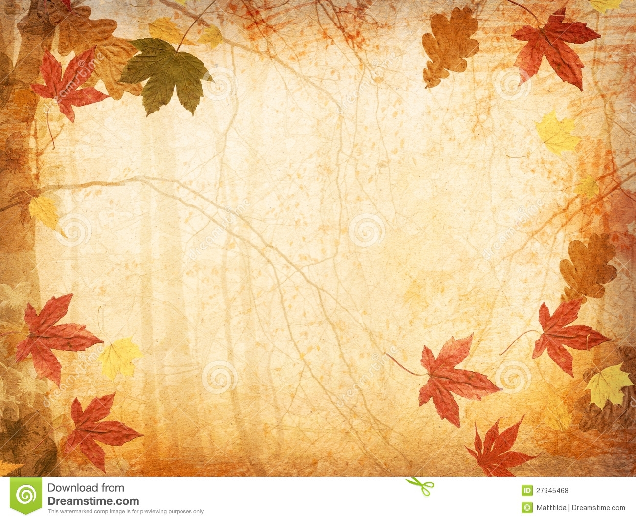 hight resolution of fall leaves background