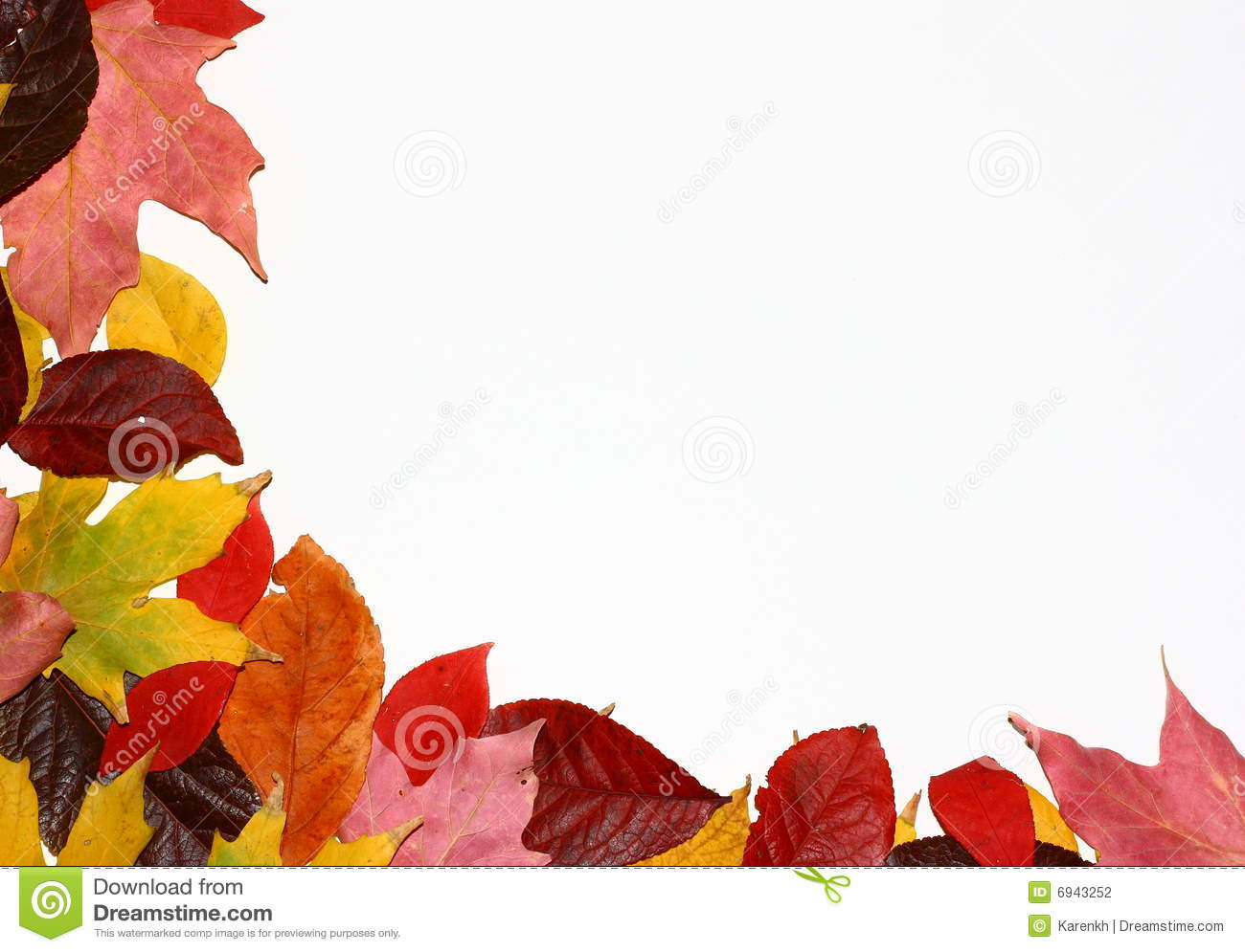 Fall Trees Background Wallpaper Fall Leaves Corner Stock Photography Image 6943252