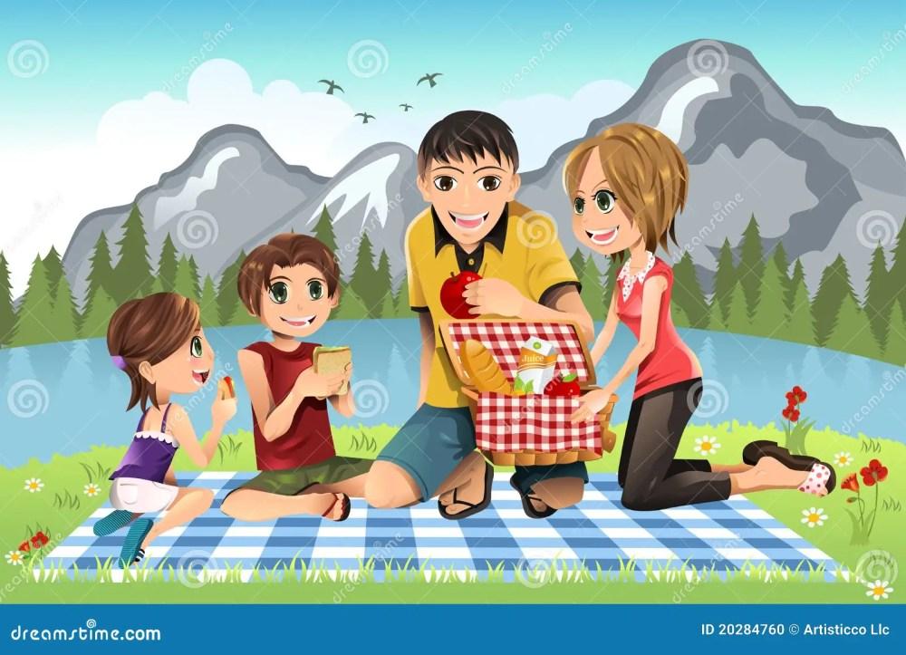 medium resolution of family picnic