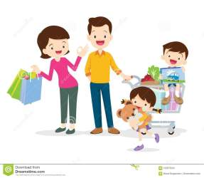 Cartoon Family Shopping Stock Illustrations 4 311 Cartoon Family Shopping Stock Illustrations Vectors & Clipart Dreamstime