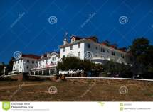 Famous Stanley Hotel In Estes Park Colorado Stock