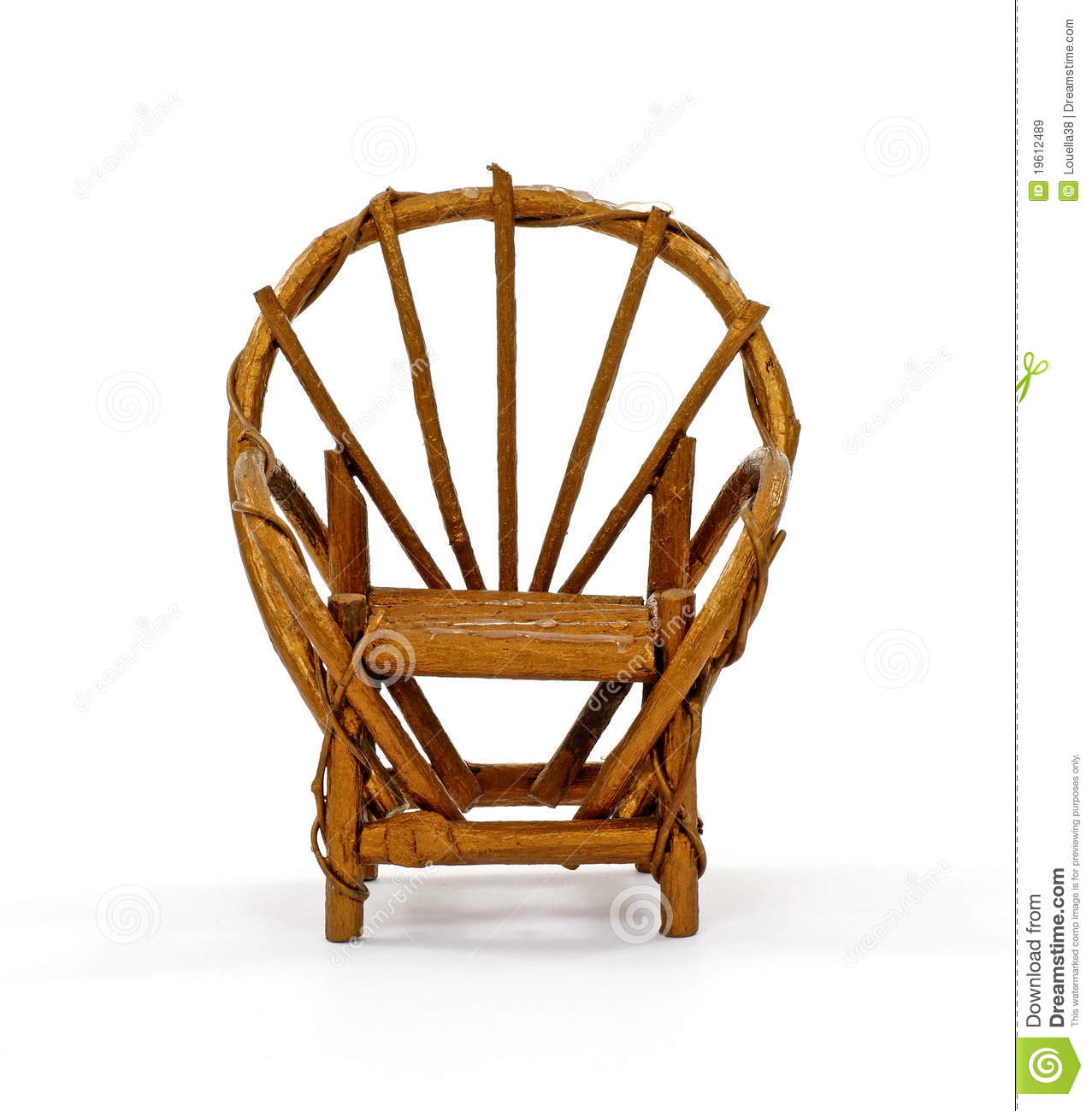 fan back wicker chair clear plastic covers walmart royalty free stock images image