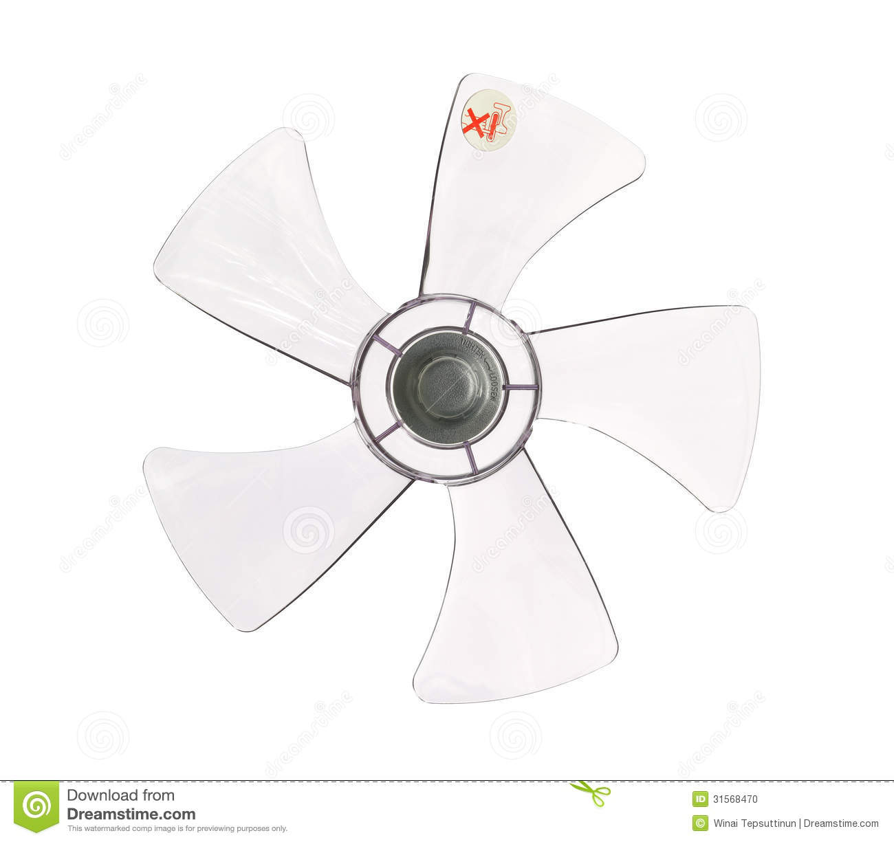 Fan Blades Stock Photo Image Of Electric Electrical