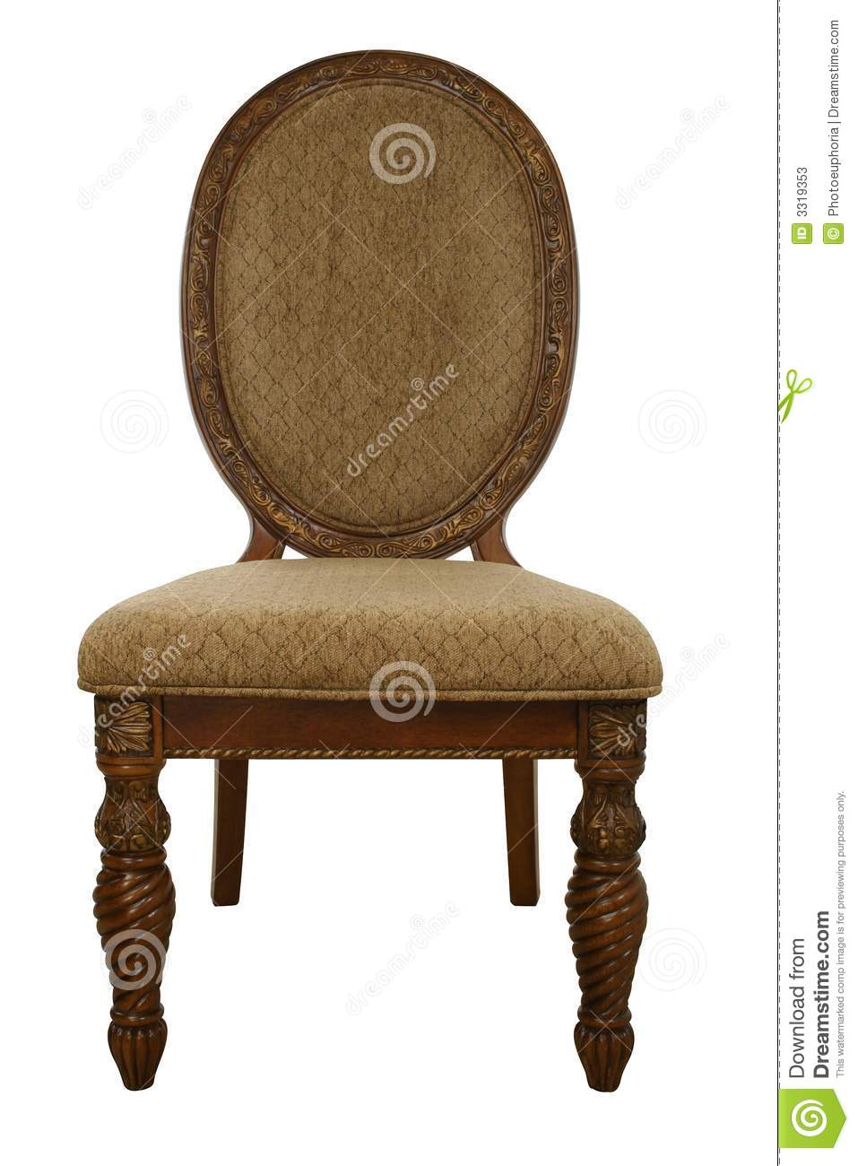 Fancy Chair stock image Image of wooden dinning