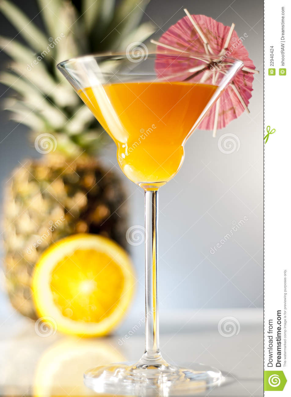 Fancy Cocktail Stock Images Image 22940424