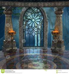palace background ancient mysterious fantasy ruins windows preview