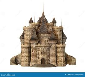castle fantasy medieval illustration