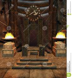 throne fantasy room barbarian preview