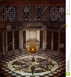 fantasy tower interior royalty fireplace mr dreamstime