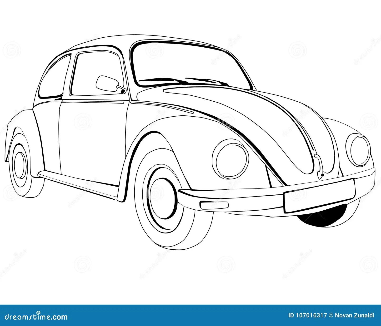 Volkswagen Stock Illustrationen, Vektors, & Klipart