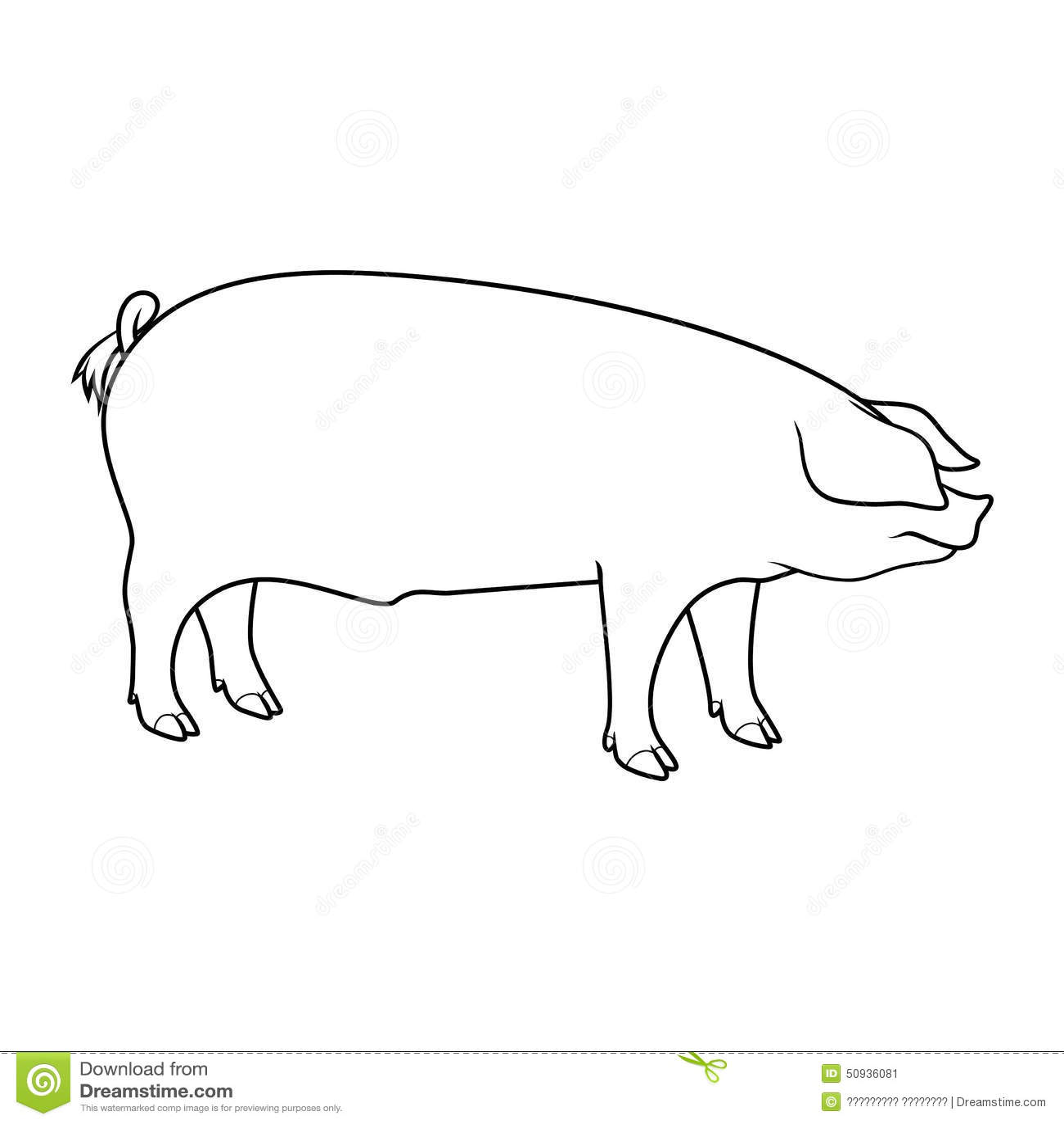 Farm Animals Stock Vector Illustration Of Domestic