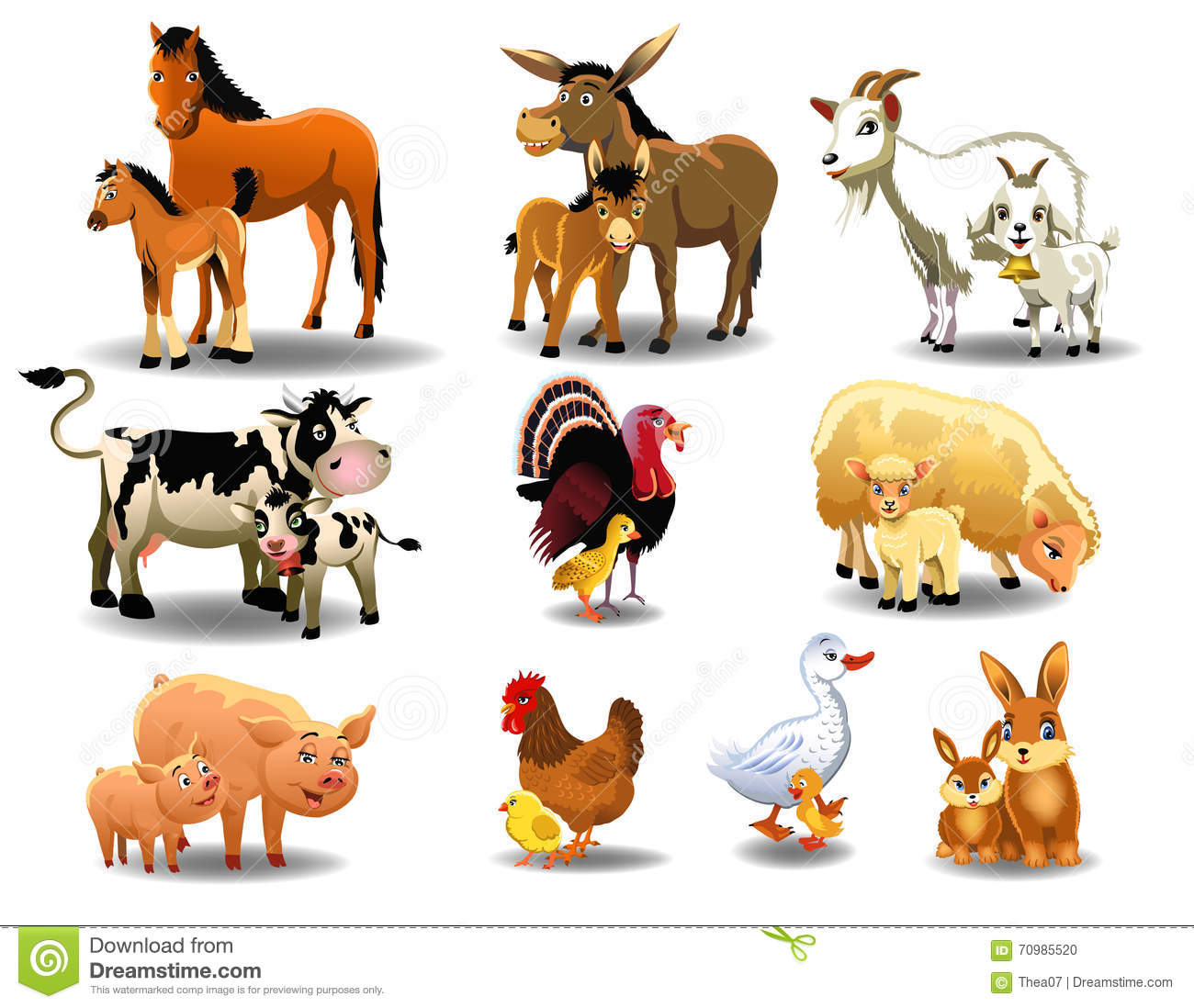 Their Cartoons Illustrations Amp Vector Stock Images