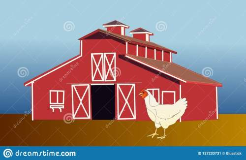 small resolution of farm poultry barn cartoon clipart