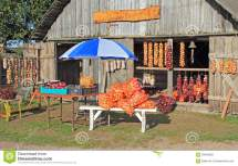 Farmers Market Stall Kolkja Estonia Editorial Stock
