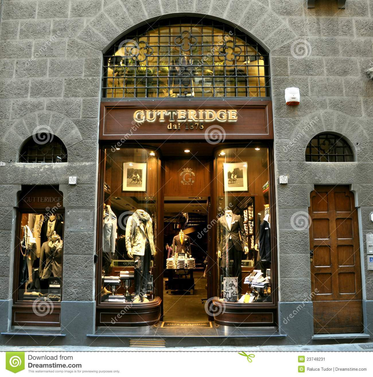 Fashion shop in Italy editorial photo Image of autumn  23748231