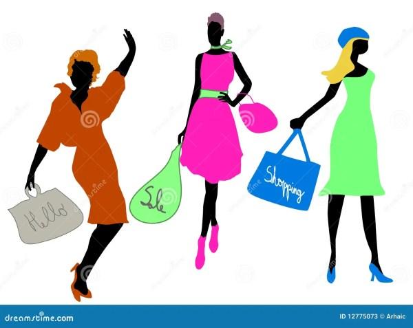 Fashion Shopping Stock Vector. Illustration Of Retail - 12775073