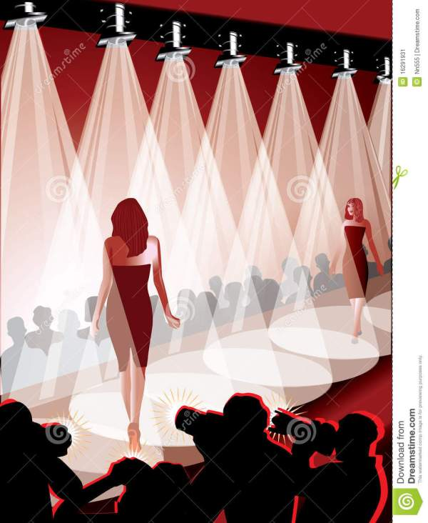 Fashion Show Runway Clip Art