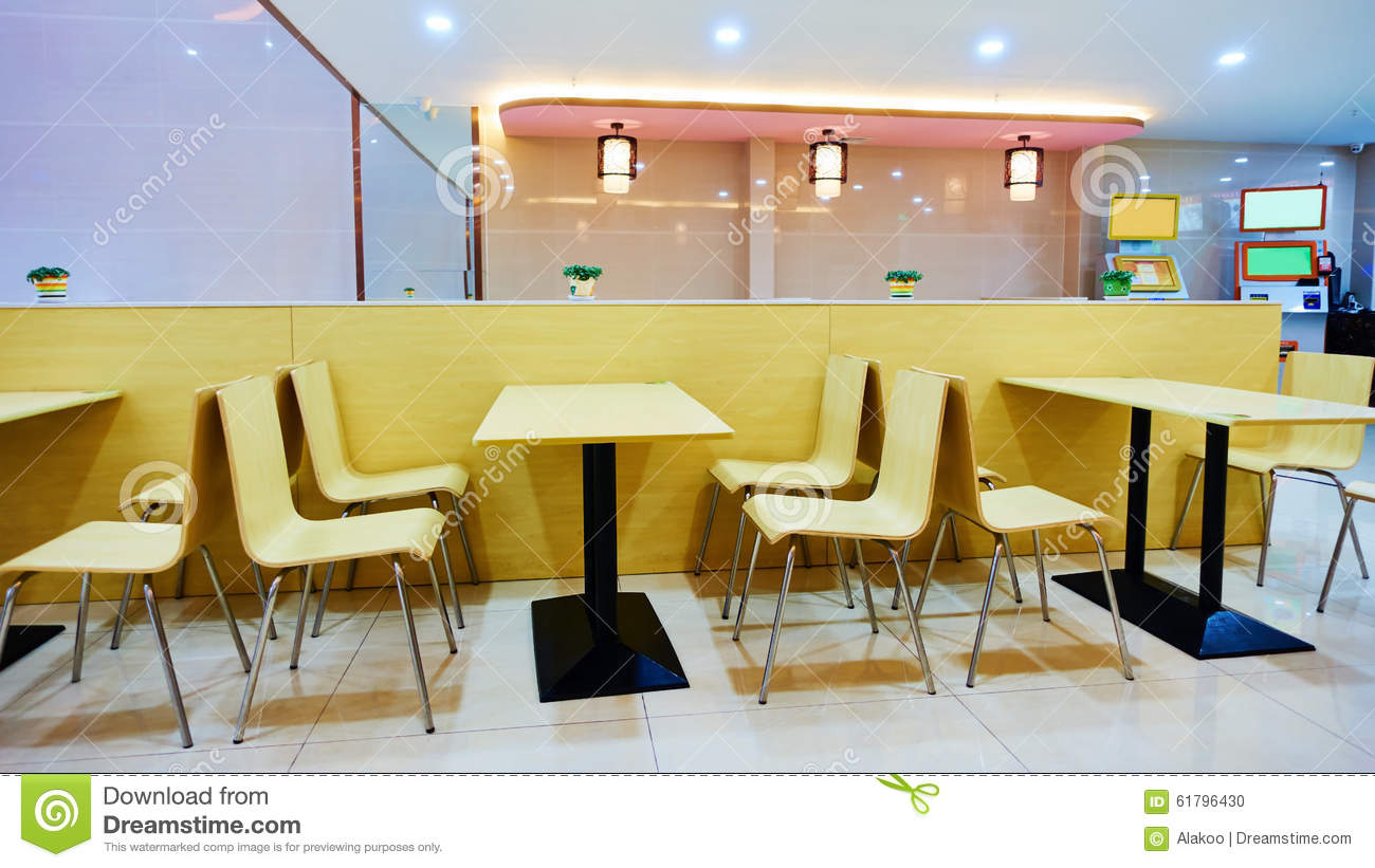 fast table chair patio hanging stand food restaurant stock photo image of architecture