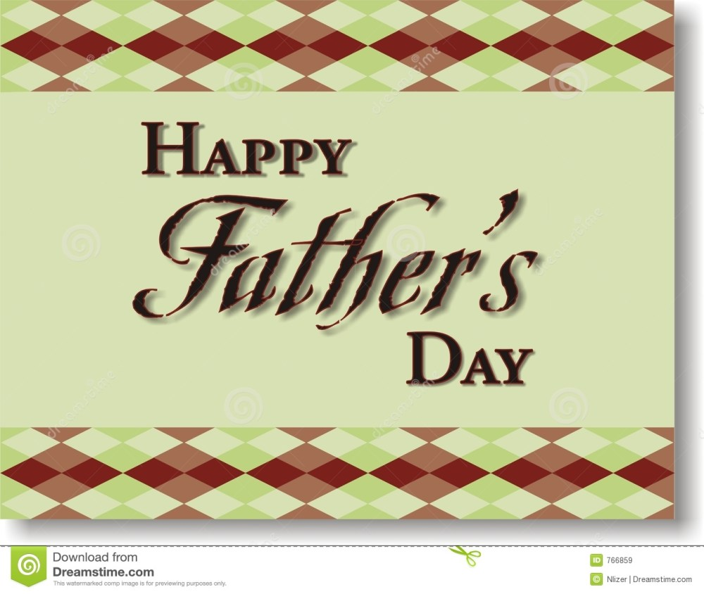 medium resolution of an illustration of happy father s day with a green background and plaid border for use in website wallpaper design presentation desktop invitation or