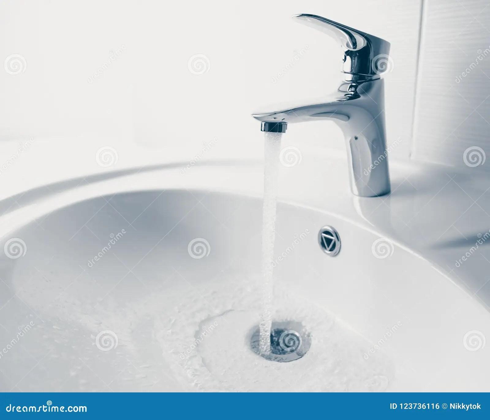 https www dreamstime com faucet wash sink flowing water faucet wash sink flowing water close up view image123736116
