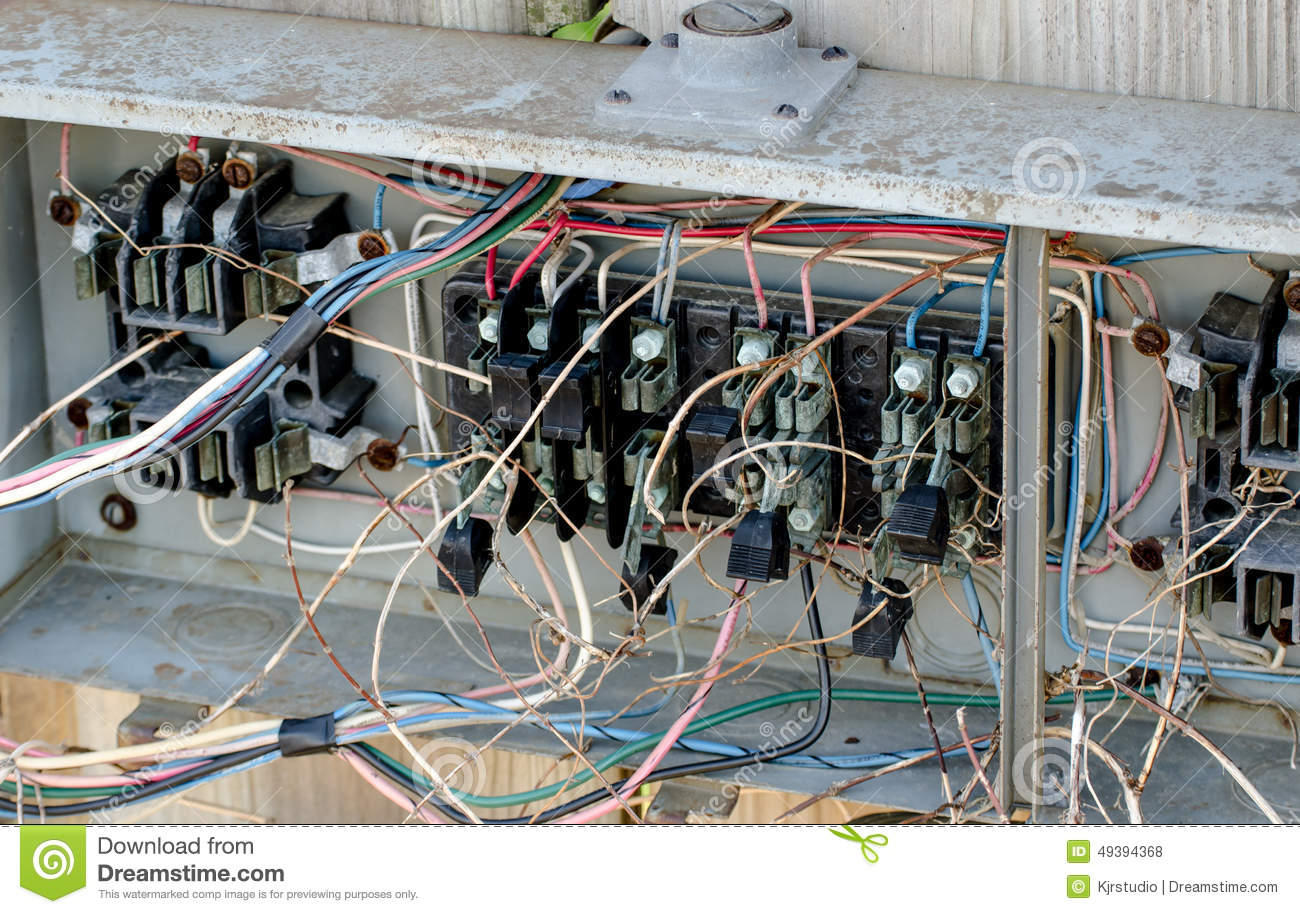 hight resolution of electrical hazard wiring