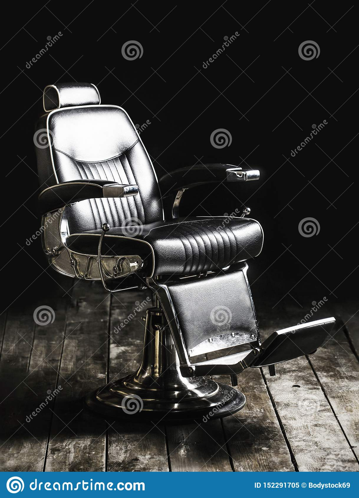 https fr dreamstime com fauteuil raseur coiffeur moderne salon coiffure les hommes chaise l gant cru vintage barber chair styliste en int image152291705