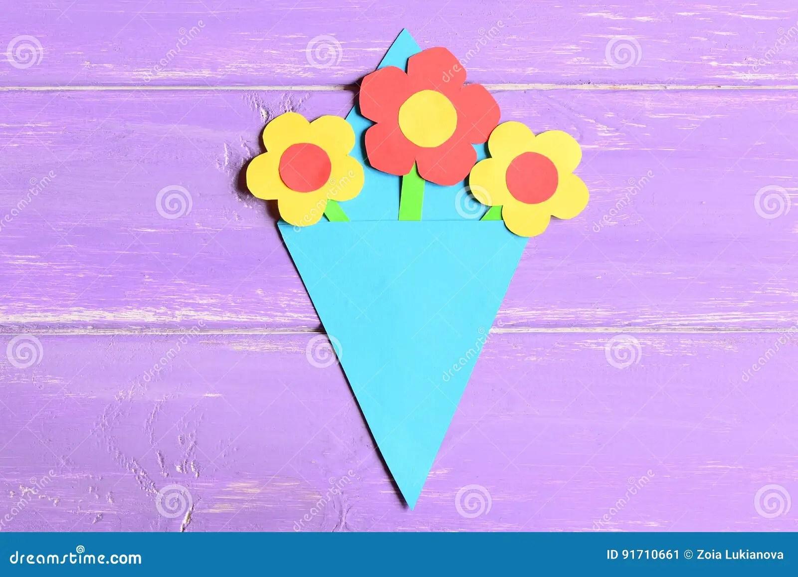 Fazendo Oficios Das Flores De Papel Para O Dia Ou O Aniversario Do S Da Mae Etapa Licao Pre