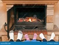 Feet Warming Fireplace Stock Photos - 263 Images