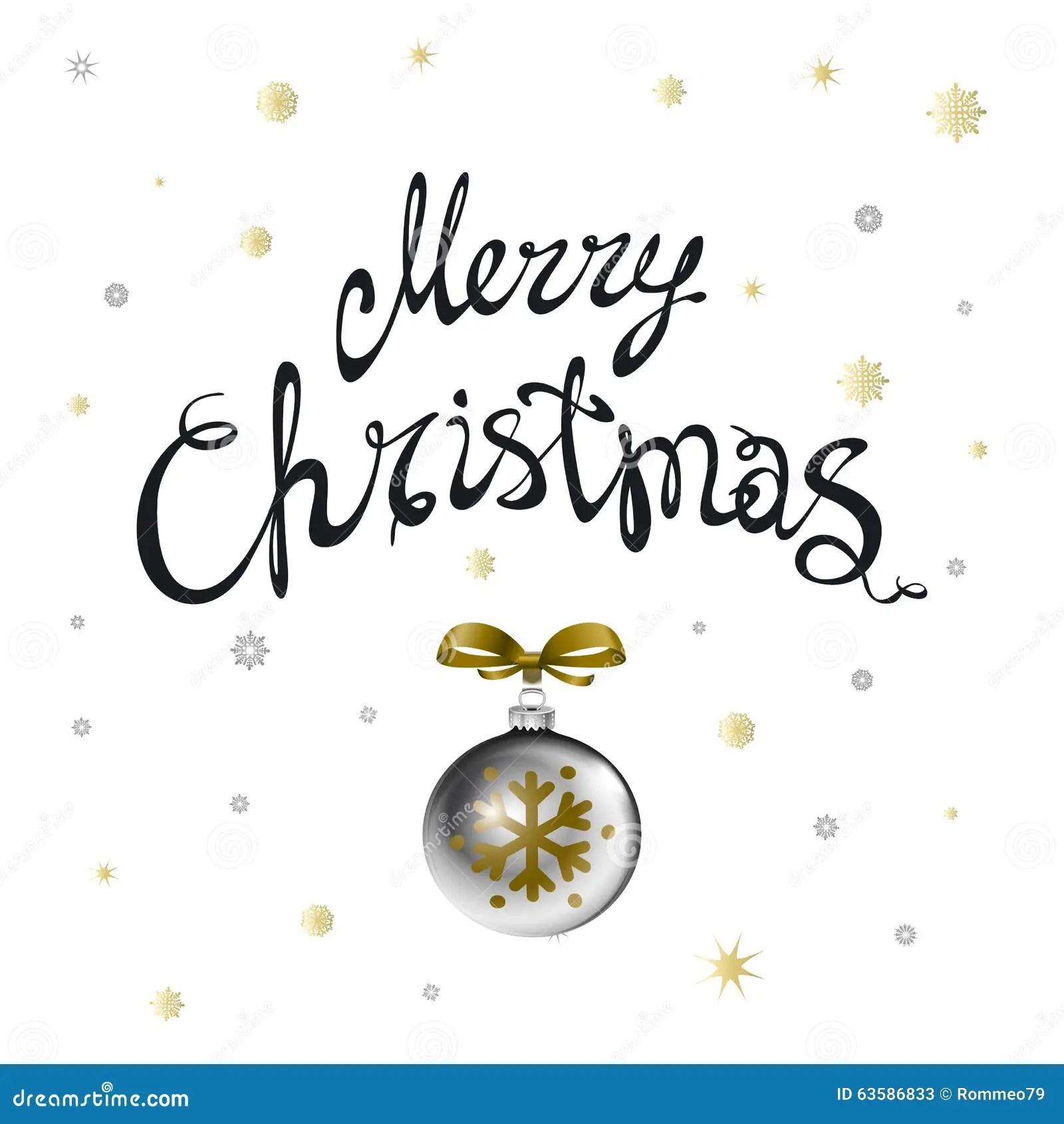 Feliz Navidad Caligrafia De La Navidad Letras Modernas