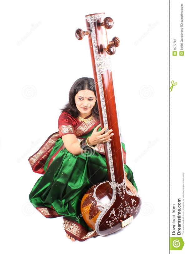 Female Classical Singer Stock Of Indian