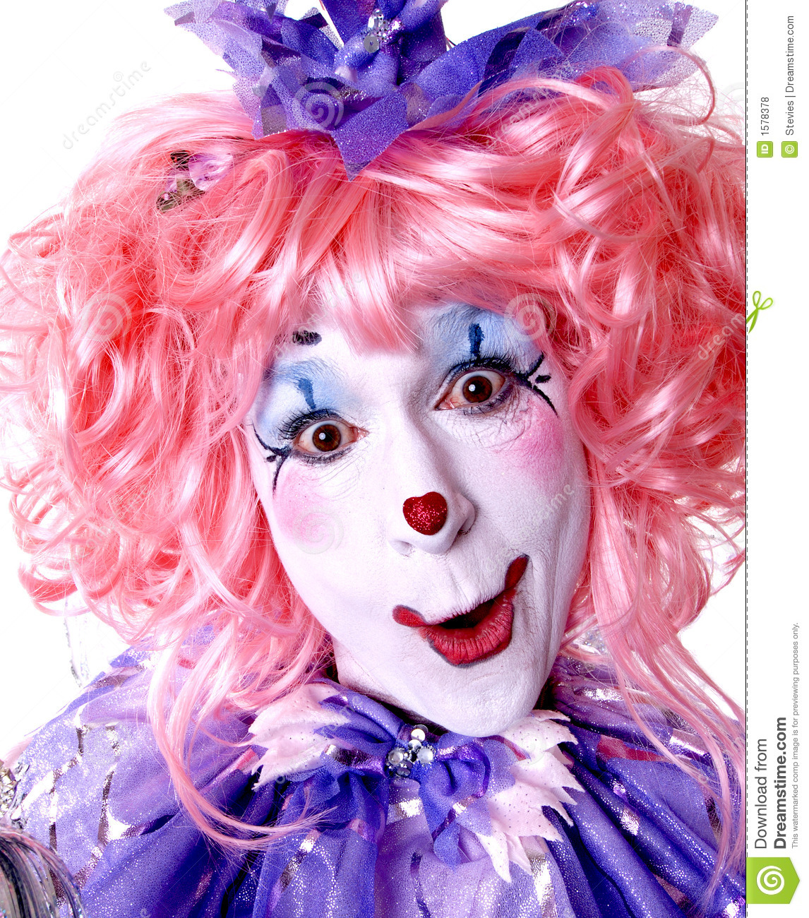 Female Fairy Clown Royalty Free Stock Photos Image 1578378