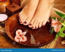 Foot Pedicure at Home