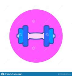 Female fitness icon stock vector Illustration of exercise 133985569