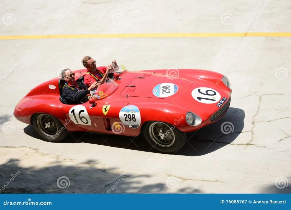 medium resolution of 1954 ferrari 750 monza spider scaglietti at the mille miglia