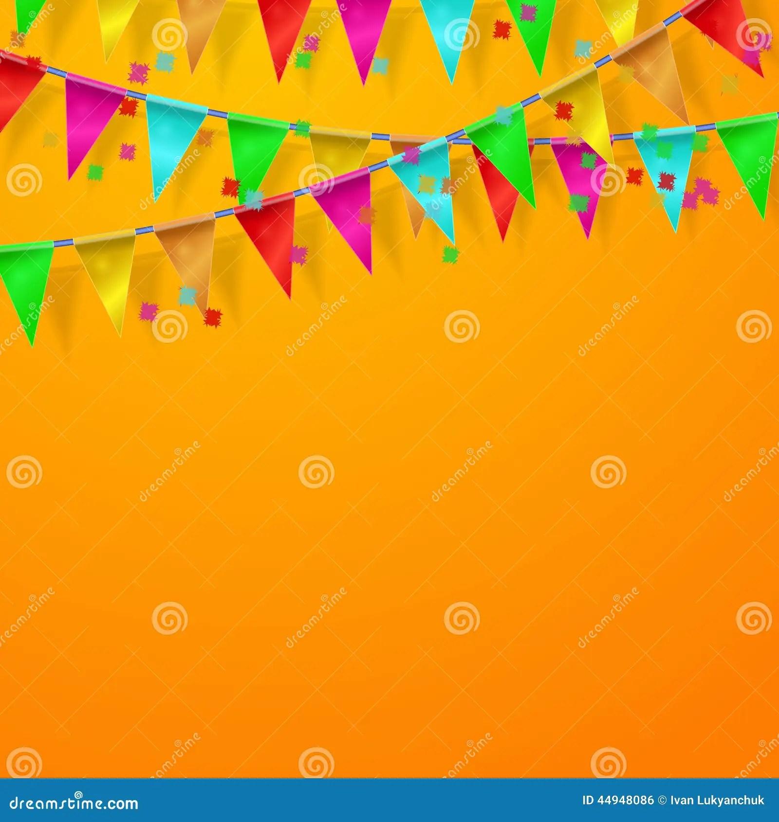 Fall Themed Wallpapers Cartoon Festival Carnival Celebration Orange Background Stock