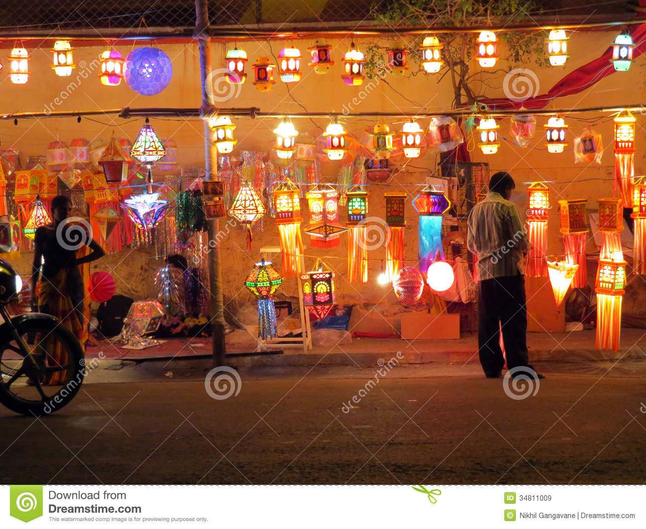 Festival Shop Editorial Stock Image Image Of Varied