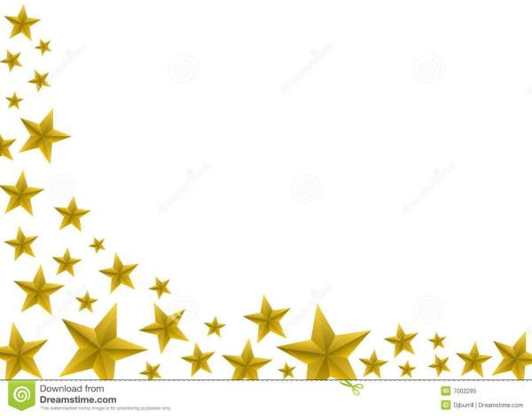 festive gold star background stock