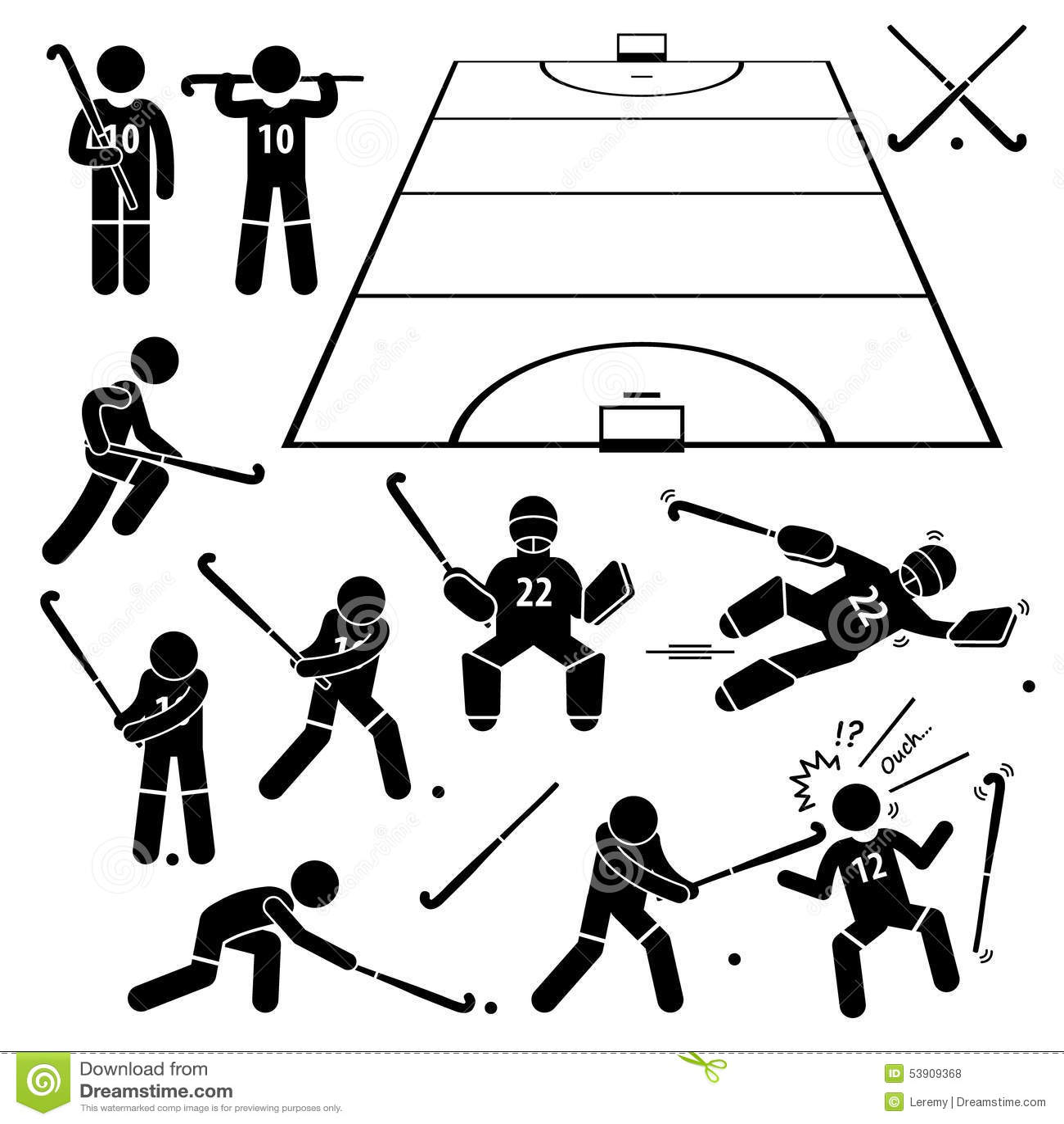 Hockey Clipart Free