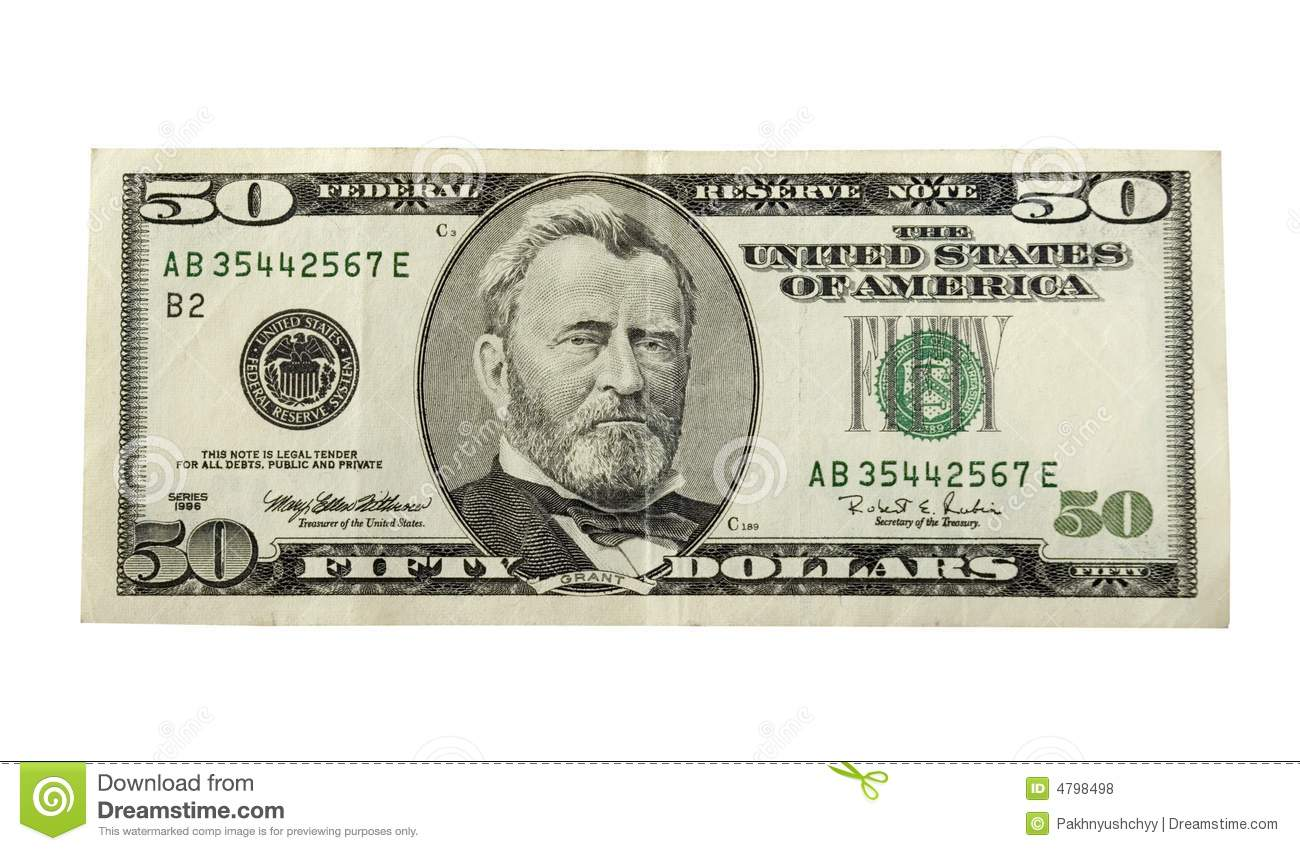 Dollar Bill Pictures Printable