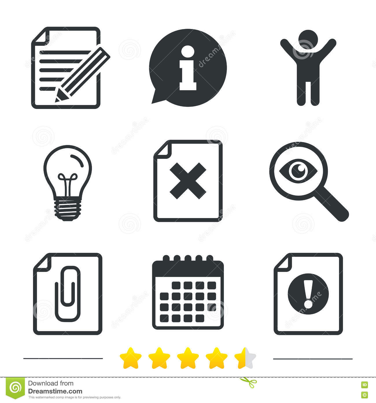 Attention Icons Exclamation Speech Bubble Vector