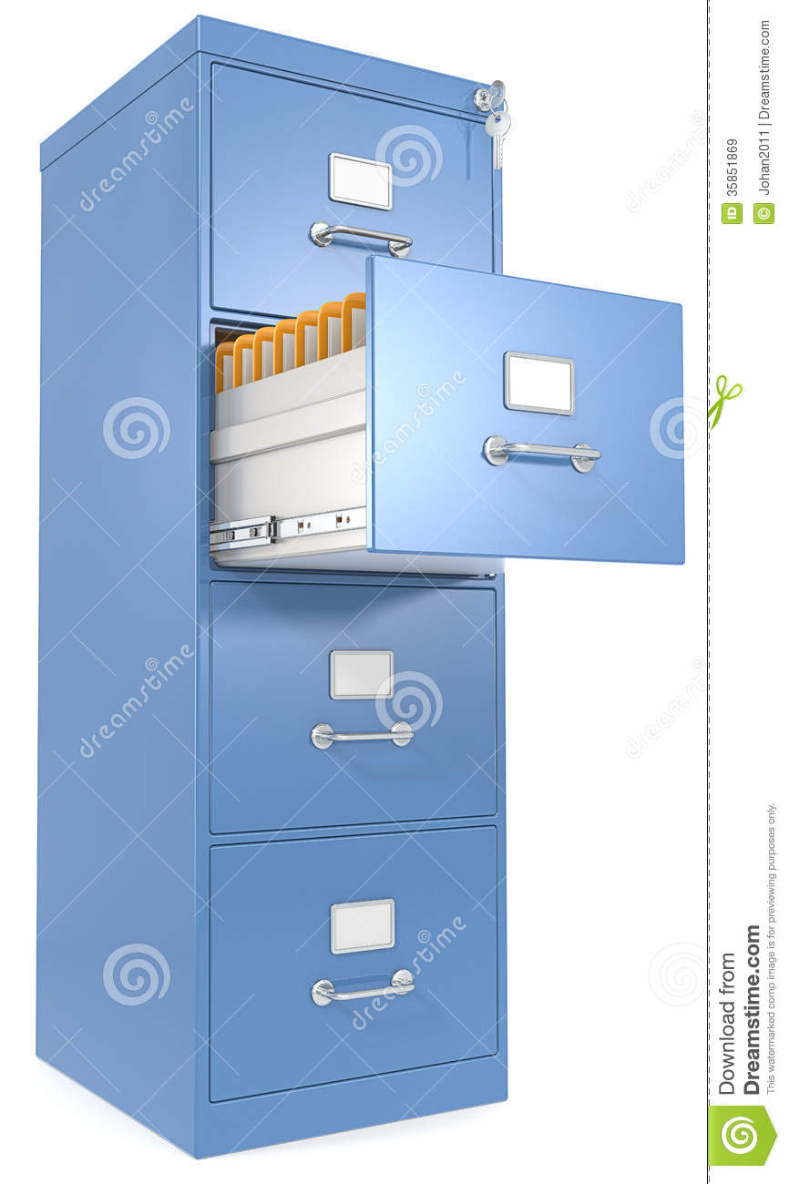 File Cabinet Royalty Free Stock Images  Image 35851869