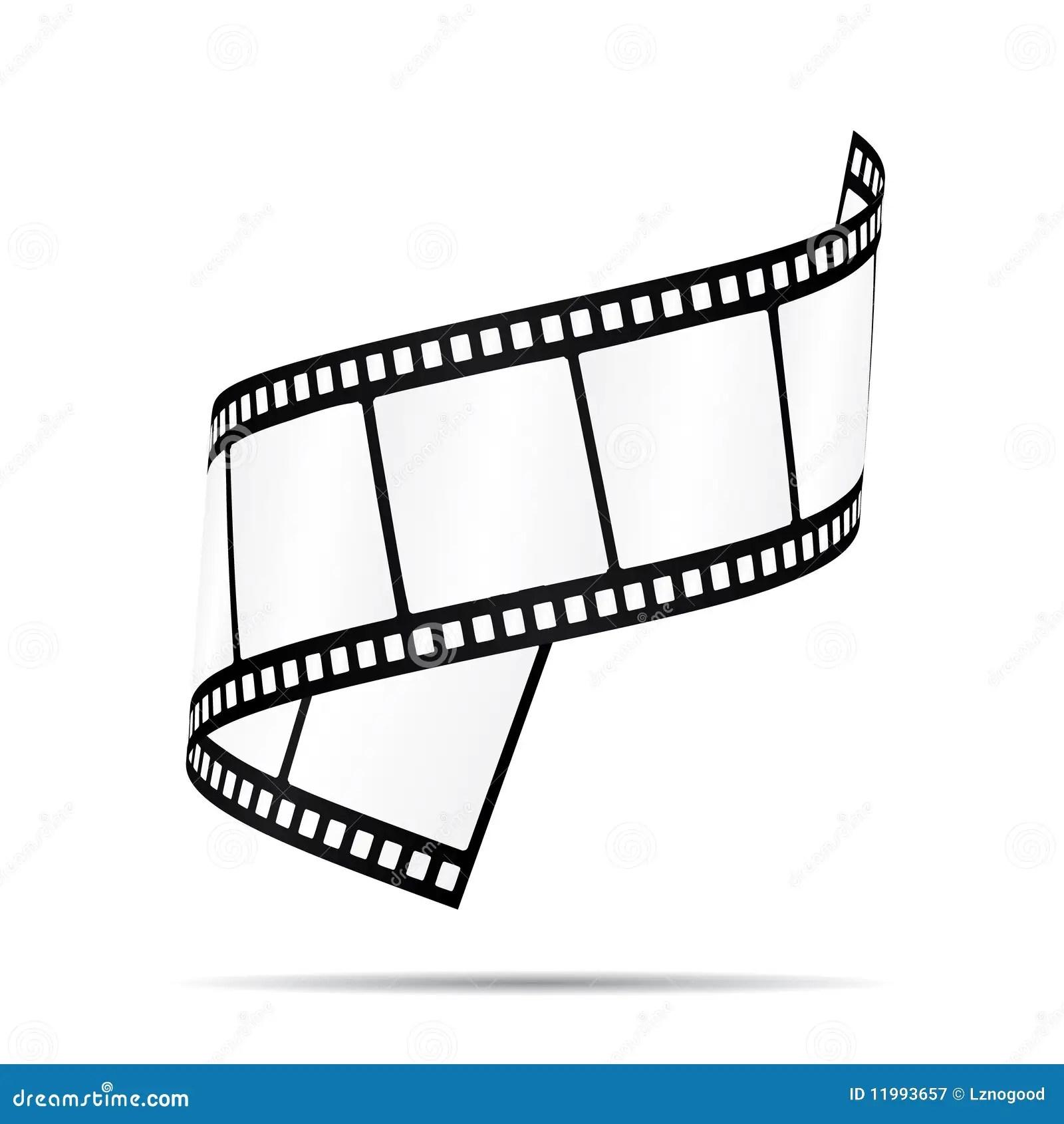 Film Strip 2 Stock Vector Illustration Of Blank Beauty