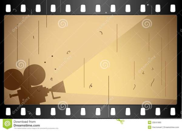 Film Strip Stock Vector. Illustration Of Cinematographic - 20041885