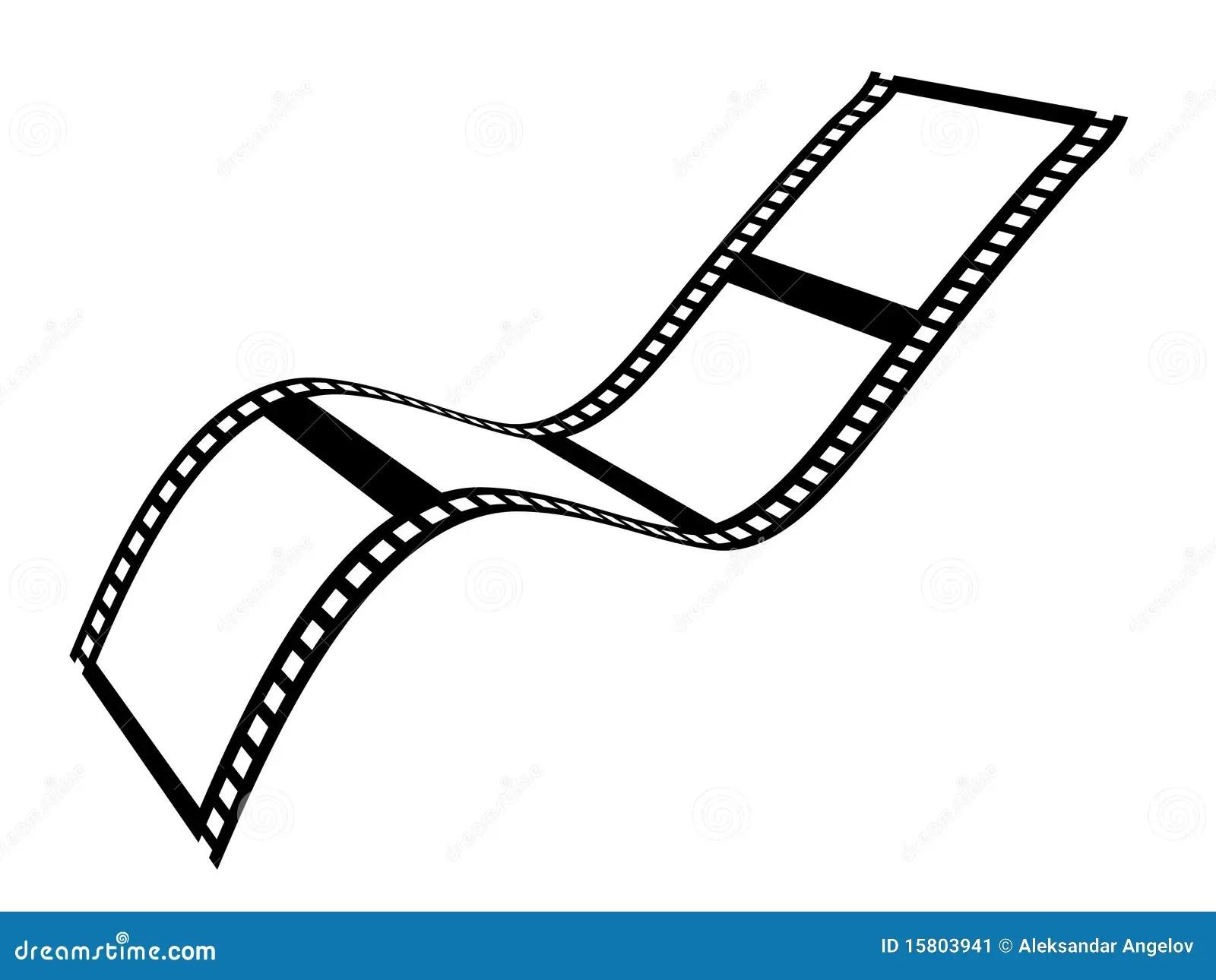 Filmband Vektor Abbildung Illustration Von Unterhaltung
