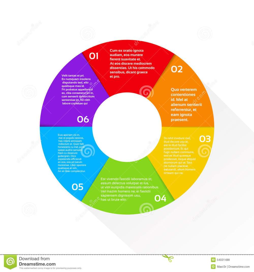 medium resolution of finance pie diagram circle infographic financial