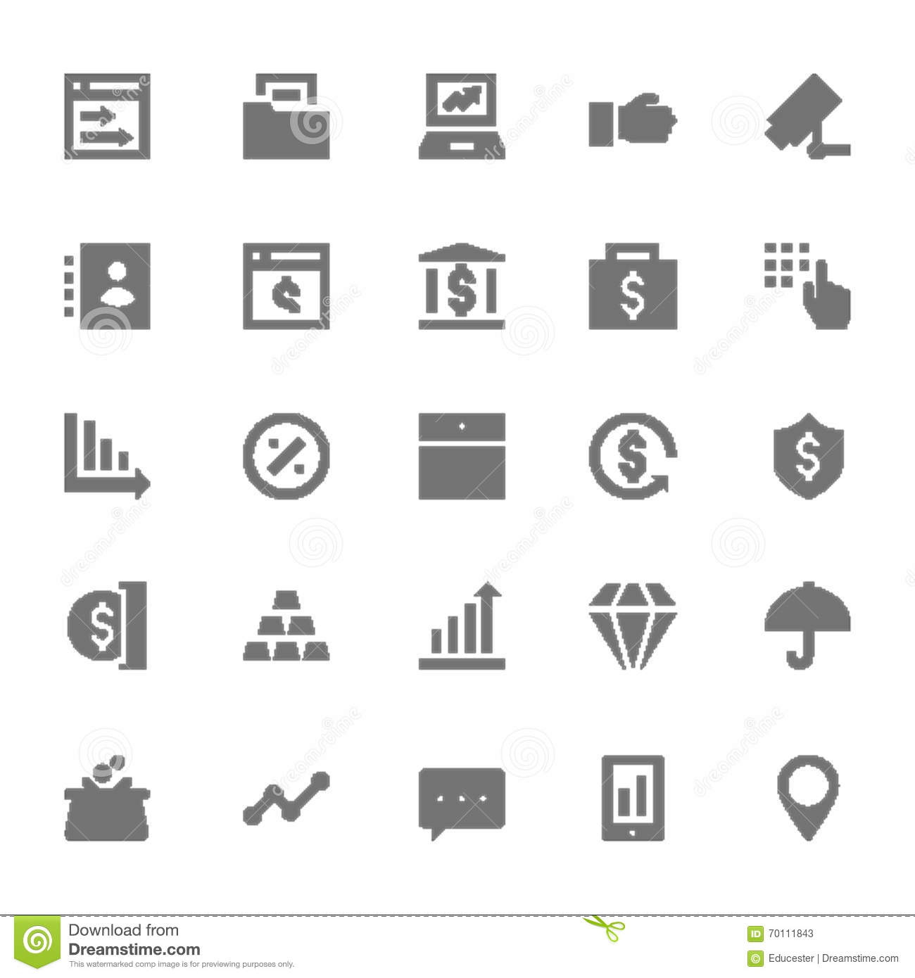 Finance Vector Icon 6 Stock Illustration